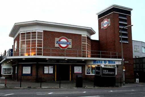 how to get to wood green station